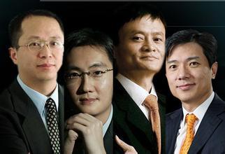 中国六大互联网巨头的业务版图