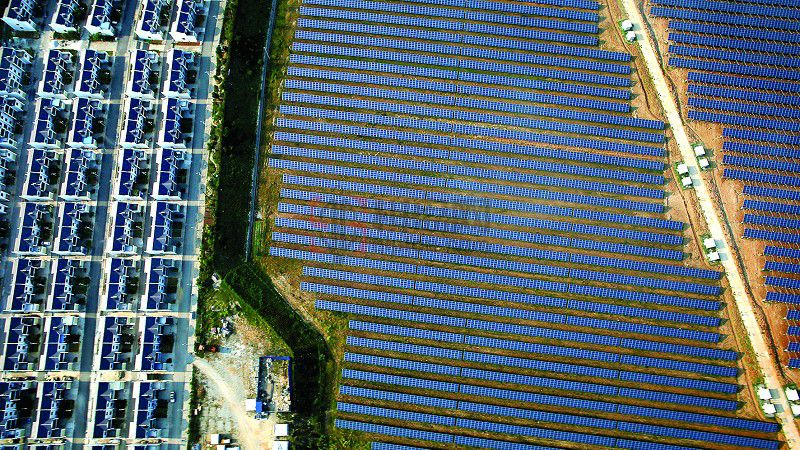 青海省海南州生态光伏产业园:做世